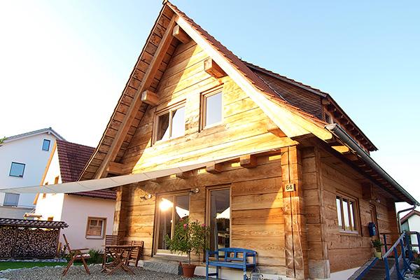 Holzhaus Und Blockhaus Gesundes Bauen Mit Holz Lehm Und Stein