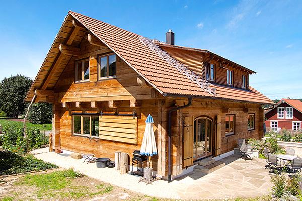 holzbohlenhaus