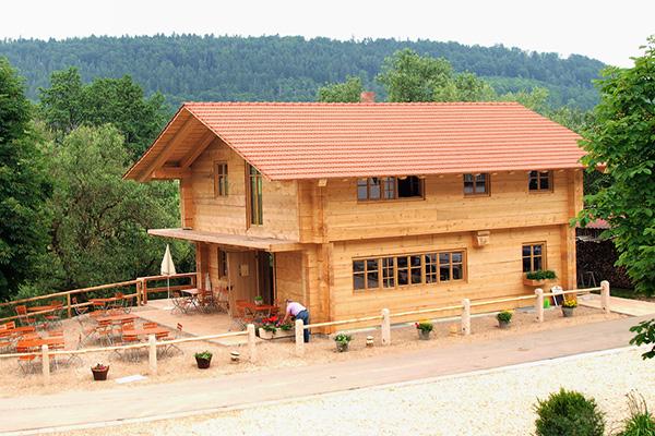 Holzhaus Und Blockhaus Gesundes Bauen Mit Holz Lehm Und Stein - Minecraft hauser aus holz und stein