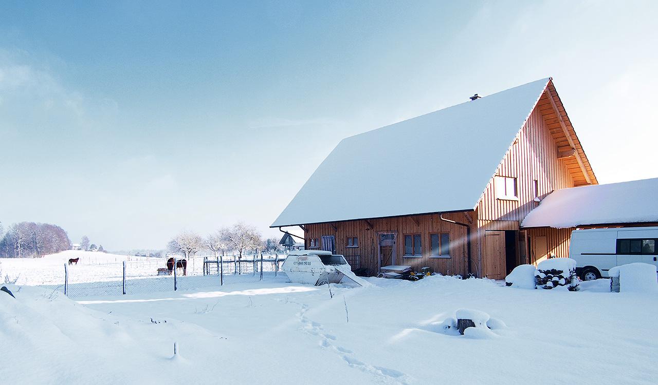 3-Generationen Haus mit Pferdehaltung Schweiz - Duffner